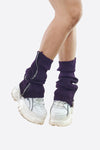 SHOEGAZE ZIP LEG WARMERS