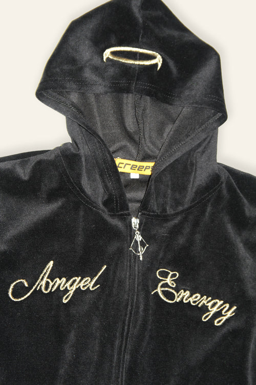 ANGEL ENERGY HOODIE BLACK - CREEPS