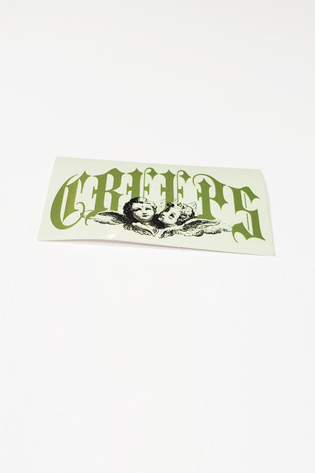 CREEPS WORLDWIDE STICKER