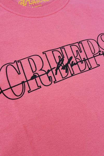CREEPS | SIGNATURE TEE - CORAL - CREEPS