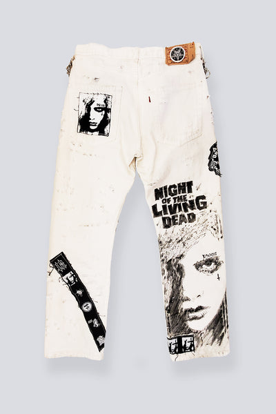 DSXIII 1 of 1 PANTS WHITE - CREEPS