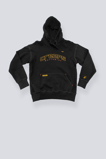 C BOTH SIDES ZIP UP HOODIE