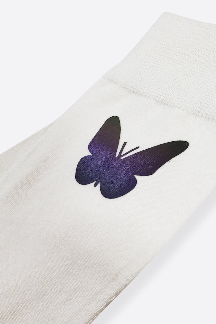 REFLECTIVE BUTTERFLY SOCKS