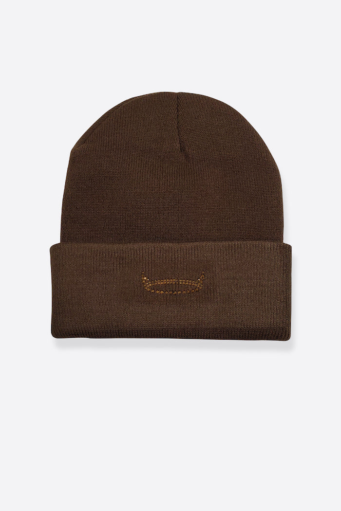 HALO BEANIE - BROWN