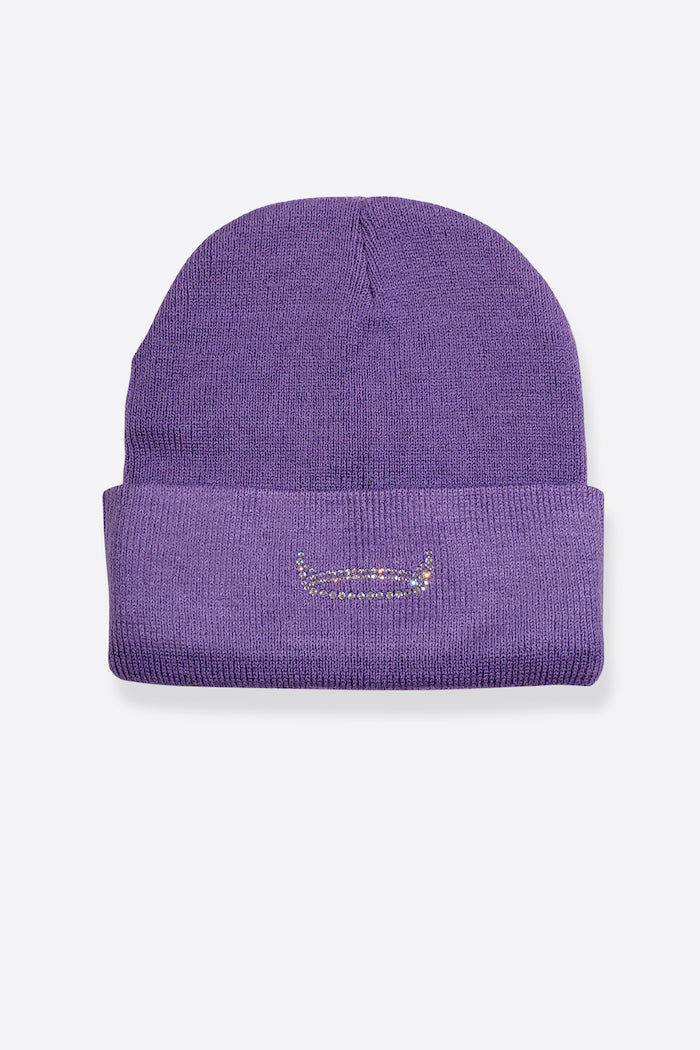 HALO BEANIE - PURPLE