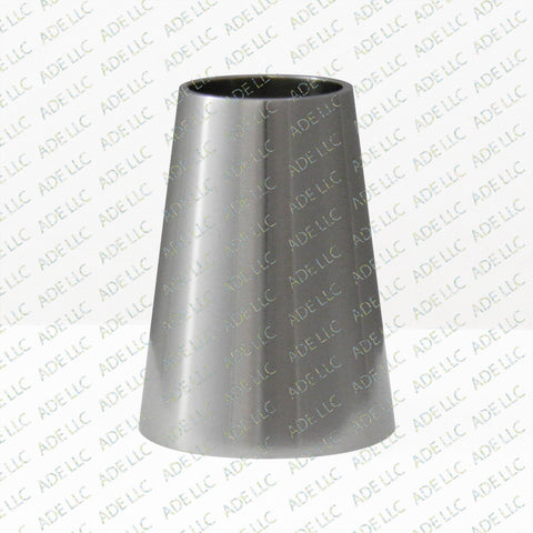 "Weld Concentric 1.5"" x 1"" Reducer, stainless steel 304"