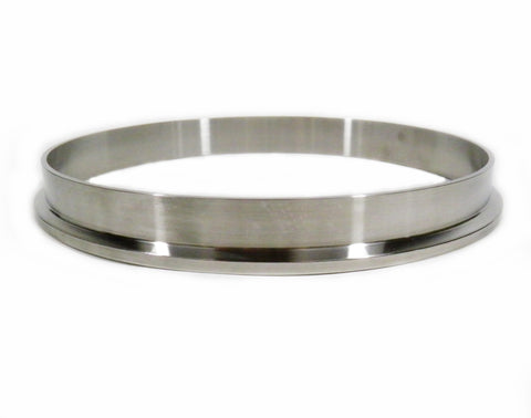 "Sanitary Weld On Ferrule, 10"" Tri Clamp/Tri Clover Fitting, Stainless Steel 304"