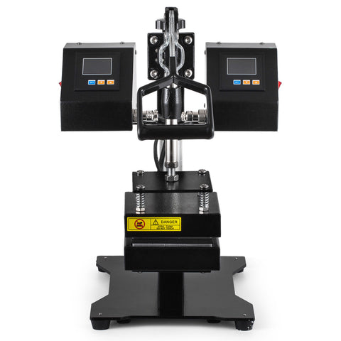 "900 Watt Dual Digital Control Rosin Heat Press, 5"" x 5"" Plate"