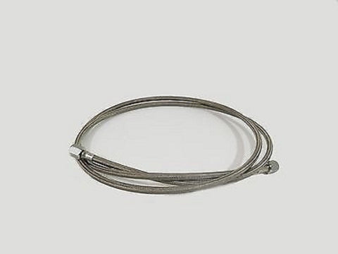 "3' BY 1/2"" SAE FJIC PTFE LINED BRAIDED SS304 HOSE FOR CLOSED LOOP EXTRACTORS"
