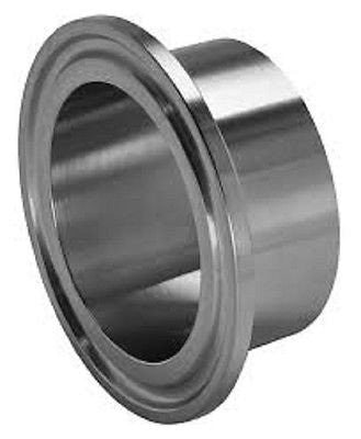 "SANITARY WELD ON FERRULE, 12"" TRI CLAMP/TRI CLOVER FITTING, STAINLESS STEEL 304"