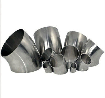"4"" Weld Elbow 45°, Stainless Steel 304"