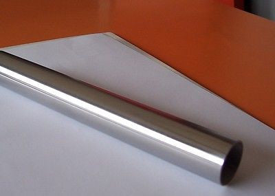 "1"" x 24""  Polished, SS304 Pipe, Tubing, Still Column. 1.5mm, 16 Gauge."