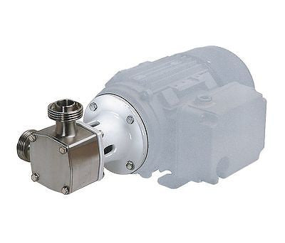 10 GPM Sanitary Flexible Impeller Distillery Mash Pump, Jabsco, 30550-5002