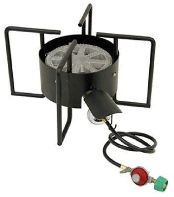 "Bayou Cooker, 22"" wide, 30 psi Propane Burner, Includes Stand & Regulator"