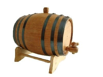 American White Oak Barrel, 3 Liter for Whiskey or Spirits