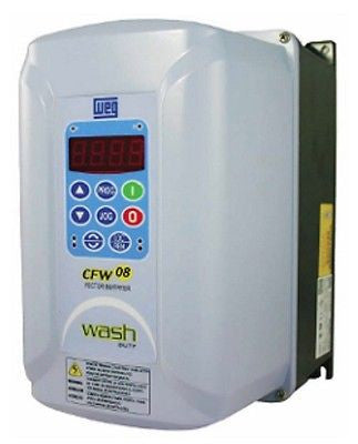 WEG CFW080027TGN4A1Z CFW08 1HP 2.7A 460V N4X VFD - CFW Variable Frequency Drive