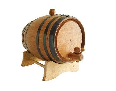 American White Oak Barrel, 1 Liter for Whiskey or Spirits