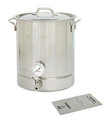 8 Gallon Beer Brew Kettle or Fermenter and Mash Cooker for Moonshine Stills