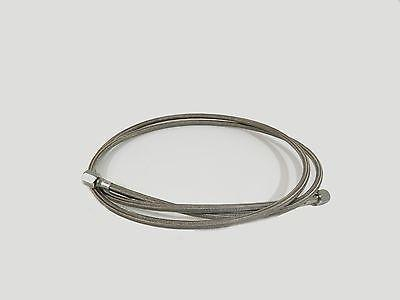 6 by 1//2 SAE Female JIC PTFE Lined Braided SS304 Hose for Essential Oil Extractors