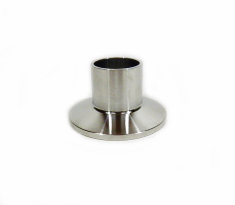 "1"" Sanitary Weld on Ferrule with 1.5"" Tri Clamp/Tri Clover Fitting, SS304"