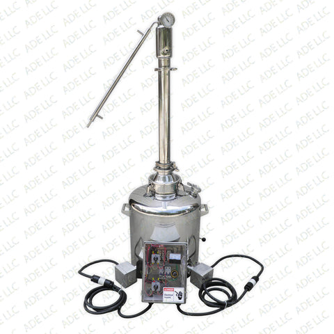 "26 Gallon Still with 3"" Stainless Reflux Column and 11,000 Watt Heating System"