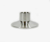 "2"" Tri Clamp to 1/2"" Female NPT Adapter, Stainless Steel SS304"