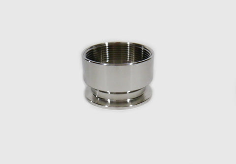 "2"" Tri Clamp to 2"" Female NPT Adapter, Stainless Steel SS304"
