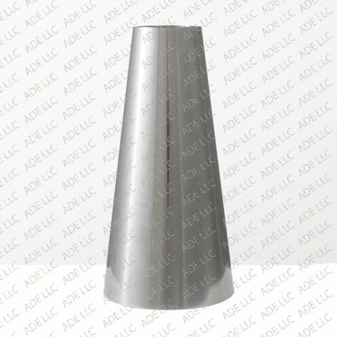 "Weld Concentric 4"" x 1.5 Reducer, stainless steel 304"