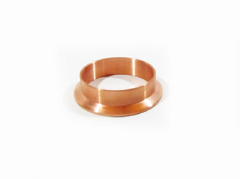 "3"" Copper Tri Clamp Weld Ferrule, Dairy Tri Clover Reflux Column, Not Stainless"