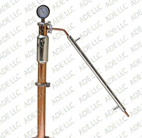 "2"" Copper and Stainless Reflux Column"