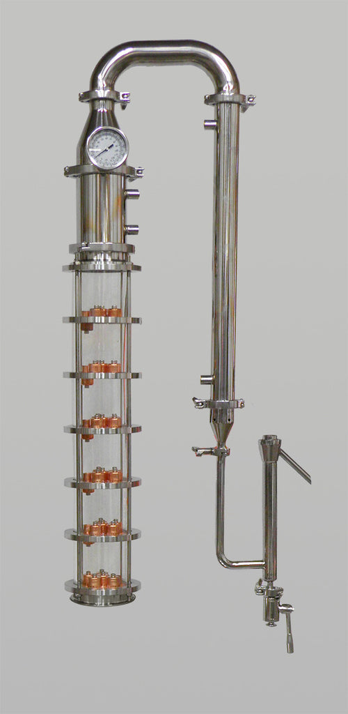 4 Quot Borosilicate Glass Column 6 Plate Column Affordable