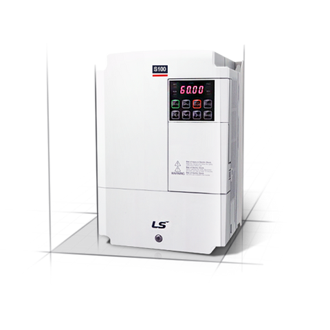 LS Electric LSLV0008S100-4 480Vac 3 Phase VFD 1HP .75kw