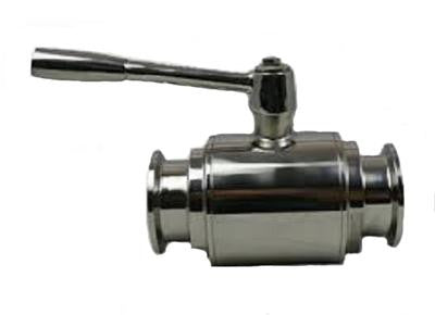 "1.5"" Tri Clamp to 1.5"" Bore, Sanitary Ball Valve, Stainless Steel 304"