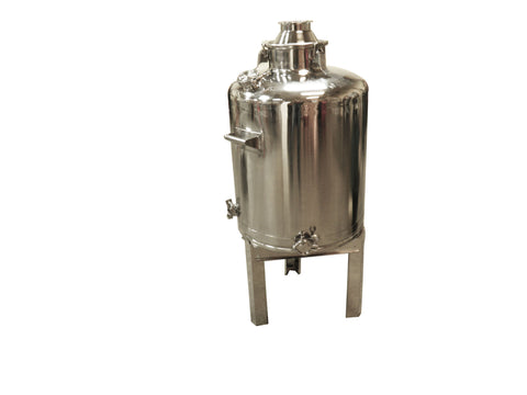 26 Gallon Stainless Steel Still Boiler, Whiskey Boiler, Moonshine Boiler with Stand