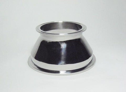 "6"" to 4"" Tri Clamp Concentric Reducer"
