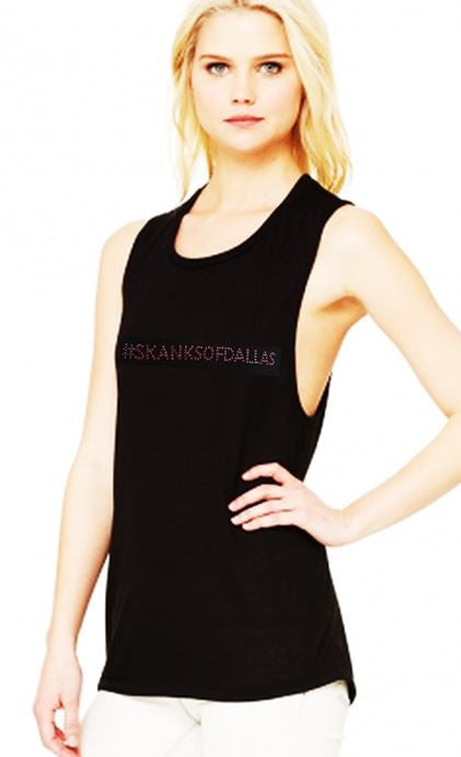 #SKANKSOFDALLAS  Bella/Canvas Muscle Tank (AKA Side Boob Tank)
