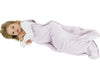 4 Season Baby Sleep Bag for Toddlers, Merino Wool, 2 - 4 Years, Dream (Lilac Gray)