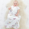 4 Season Basic Baby Sleeping Bag, Merino Wool, Butterfly