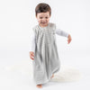 4 Season Baby Sleep Bag with Feet, Merino Wool, Gray