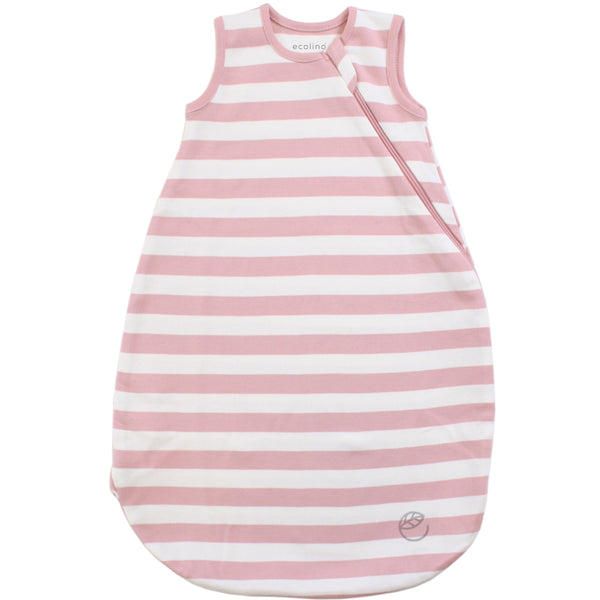 Ecolino Organic Cotton Baby Sleep Bag or Sack, Blush