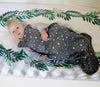 4 Season Baby Sleep Bag, Merino Wool, 2 Months - 2 Years, Star Gray