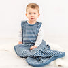 4 Season Baby Sleep Bag, Merino Wool, 2 Months - 2 Years, Navy Blue