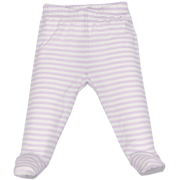 Baby Footed Pants, Merino Wool, Lilac