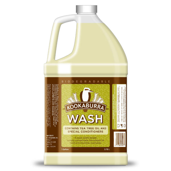 Kookaburra Wool Wash Non-Scented (1-Gallon) AVAILABLE IN USA ONLY