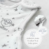 4 Season Baby Sleep Bag, Merino Wool, 2 Months - 2 Years, Nightsky