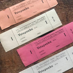 Vintage Tickets - Set of 21 - Vintage Ticket Stubs, Vintage Paper Ephemera, Vintage Tickets, Old Tickets, Junk Journal Ephemera, Collage