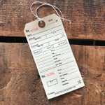 Paper Tags - Set of 5 - Clothing Tag, Junk Journal Paper Ephemera, Paper Tags, Price Tags, Planner Supply, Alteration Tags, Manilla Tags