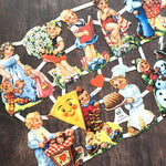German Scraps - Children - Die Cuts, Cut Outs, Cute Children, Vintage Style, Paper Ephemera, Junk Journal Ephemera, Children Ephemera