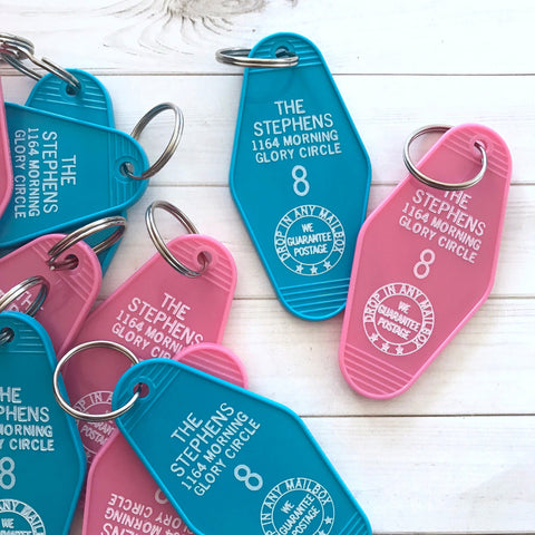 Bewitched Hotel Key Tag / Keychain