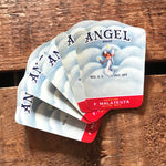Vintage Labels - Set of 10 - Vintage Angel Labels, NOS Label, Junk Journal, Paper Ephemera, Vintage Advertising, Altered Art, Craft Supplies